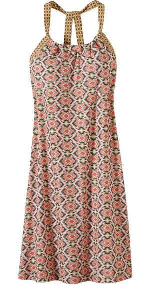 Prana W's Quinn Dress Safari Guava